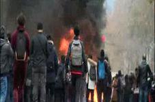 دانش آموزان فرانسوی به معترضان جلیقه زرد پیوستند