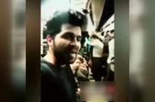 خواندن «ربنا» به سبک شجریان توسط یک جوان در مترو