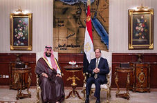 پذیرایی تحقیر آمیز مصریها از ولیعهد عربستان