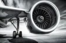 تصاویری از قدرتنمایی موتور یک هواپیما حین تیکآف