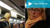 رفتار نژادپرستانه عجیب مسافر در داخل هواپیما!