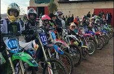 استقبال بانوان مشهدی از ورزش موتورسواری