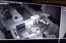 مسافر ناخوانده به طرز وحشتناکی کارمندان هتل را بیدار کرد