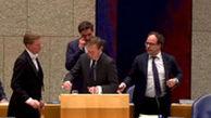 وزیر بهداشت هلند غش کرد!