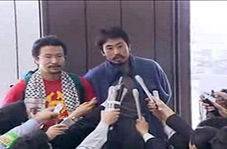 آزادی خبرنگار ژاپنی ربوده شده در سوریه پس از سه سال + فیلم