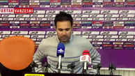 محمد نصرتی: با احترام به تیم حریف باید سه یا چهار بر صفر می بردیم