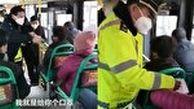 واکنش عجیب زن چینی به درخواست پلیس برای زدن ماسک!