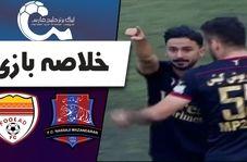 خلاصه بازی نساجی مازندران 1 - فولاد خوزستان 0