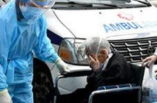 بغض و اشک خبرنگار و بیمار سالمند کرونایی