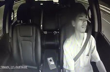 از خواب پریدن راننده هنگام تصادف
