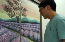 هنر فوق العاده معلم چینی روی تخته سیاه