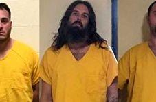 ثبت لحظه فرار زندانیان توسط دوربین مداربسته