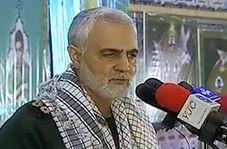 پاسخ قاطع سردار سلیمانی به رئیس جمهور آمریکا