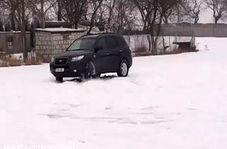زیر گرفتن 6 نفر پس از دریفت در برف
