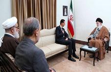 حضور سردار سلیمانی در دیدار امروز رهبر انقلاب و بشار اسد