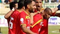 گل های بازی پرسپولیس و فولاد خوزستان