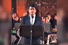 اجرای دیدنی شجریان با ارکستر ملی ایران