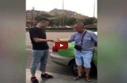 روش عجیب برای تشخیص راننده مقصر در تصادف!