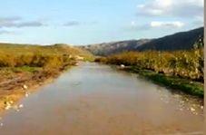 جادهای که تبدیل به رودخانه شد!