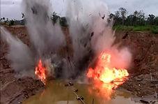 تخریب دهها معدن در آمازون توسط پلیس پرو