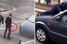 ویدئویی از حمله افراطیون به نمازگزاران در مقابل مسجدی در لندن