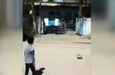 انجام چالش محمد صلاح توسط پسر ۷ ساله آبادانی