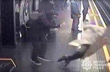 اقدام جنون آمیز مسافر دیوانه در ایستگاه قطار!