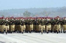 رژه دیدنی نیروهای ارتش پاکستان در روز جمهوری