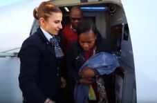 به دنیا آمدن نوزاد در هواپیما