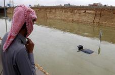 سیل مرگبار در عربستان