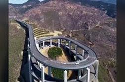 شاهکار مهندسان چینی در کوهستان