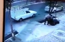 تصادف وحشتناک در خیابان رسالت تبریز