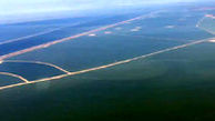 تصاویر هوایی از هورالعظیم پر آب