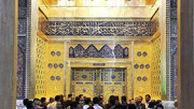 ورود پیکر شهید سپهبد قاسم سلیمانی به حرم امامین جوادین در کاظمین