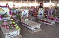 اولین جشن پیروزی بر داعش در «مقبرة الشهداء» نجف اشرف