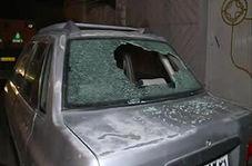 حمله اراذل و اوباش با پتک و قمه به خودروهای مردم در ورامین!