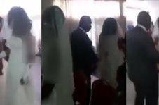 لحظه رسوا شدن داماد خیانتکار در جشن عروسیاش!