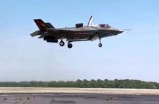 آزمایش تیکآف عمودی جنگنده آمریکایی