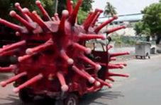 کمپین هشدار کرونایی در هند