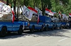 کمکهای مردم عراق به خرمشهر رسید