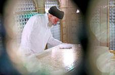 حضور رهبر انقلاب در بارگاه حضرت امام رضا(ع)