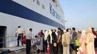 فیلم/ آمار عجیب از ورود مسافران به کیش و قشم!