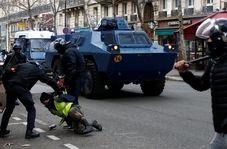 برخورد عجیب پلیس فرانسه با معترض مبتلا به بیماری صرع