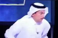 فرار وزیر بهداشت از برنامه زنده تلویزیونی به دلیل عطسه مجری!