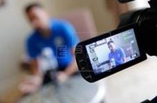 مصاحبه اختصاصی عادل فردوسیپور با ژاوی در فرودگاه امام