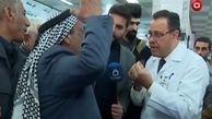 مرگ ناگهانی شهروند عراقی در مصاحبه زنده تلویزیونی