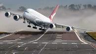 تلاش تیم امداد و نجات در محل سانحه بوئینگ 707