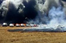 صدها خودرو به دلیل گرما در هند آتش گرفتند!