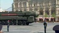 رژه تمرینی روز پیروزی در مسکو