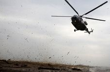 انتقال زخمیهای صهیونیست با بالگرد